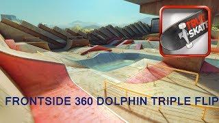 True Skate - Frontside 360 Dolphin Triple Flip