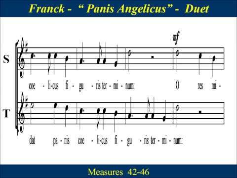 Panis Angelicus - Franck - Duet - Score