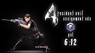Resident Evil 4 - Assignment Ada Speedrun (6:12) - GameCube PAL
