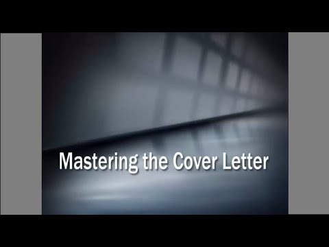 How To Write The Perfect Resume Cover Letter YouTube