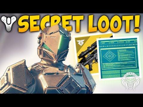 Destiny 2: SECRET RASPUTIN UNLOCKS & NEW LOOT! Black Spindle Door, Puzzle Keys & Raid Info