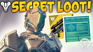 Destiny 2: SECRET RASPUTIN UNLOCKS & NEW LOOT! Black Spindle Door, Puzzle Keys & Raid Info