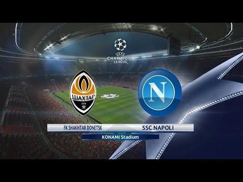 Shakhtar vs Napoli | UEFA CHAMPIONS LEAGUE | PES 2017 | Gameplay PC