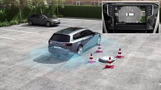 Технологии Volkswagen  Система кругового обзора