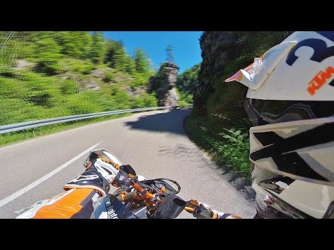 Supermoto on limit? // RAW 23 // KTM SMC R 690 // Sumo fighters // Race // Bannwald Wehratal