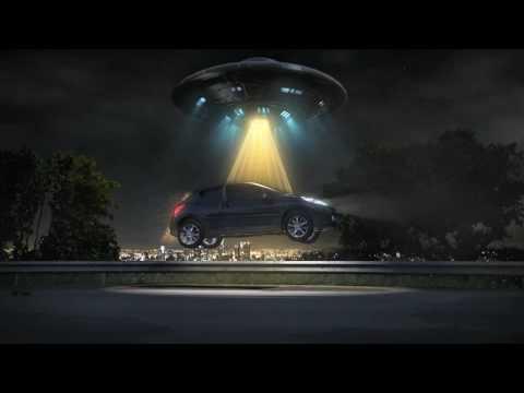 UFO versus car