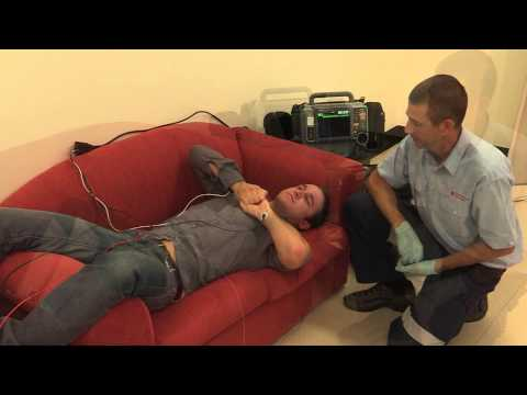 How to perform a vagal manoeuvre