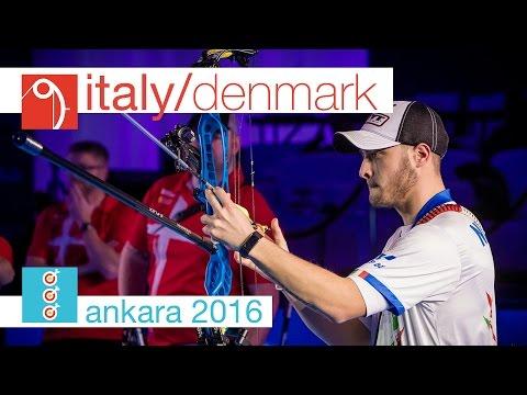 Italy v Denmark – Compound Men's Team Gold Final | Ankara 2016