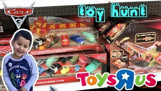 NEW 2018 DISNEY CARS 3 TOY HUNT at TOYS R US