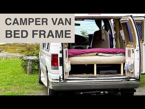 Van Life - Cheap & Easy Camper Van Bed Frame