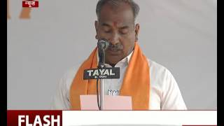 Arvind Pandey takes oath as minister in Uttarakhand