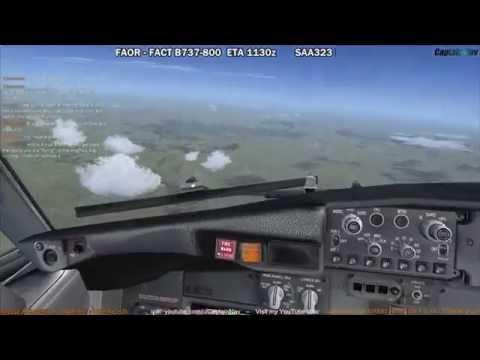 [FSX] PMDG 737 NGX   Johannesburg (FAOR) to Cape Town (FACT) Part 3