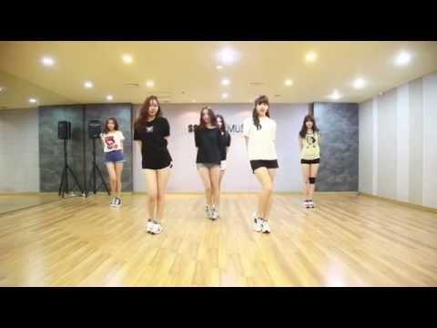 gfriend me gusta tu slow version dance tutorial