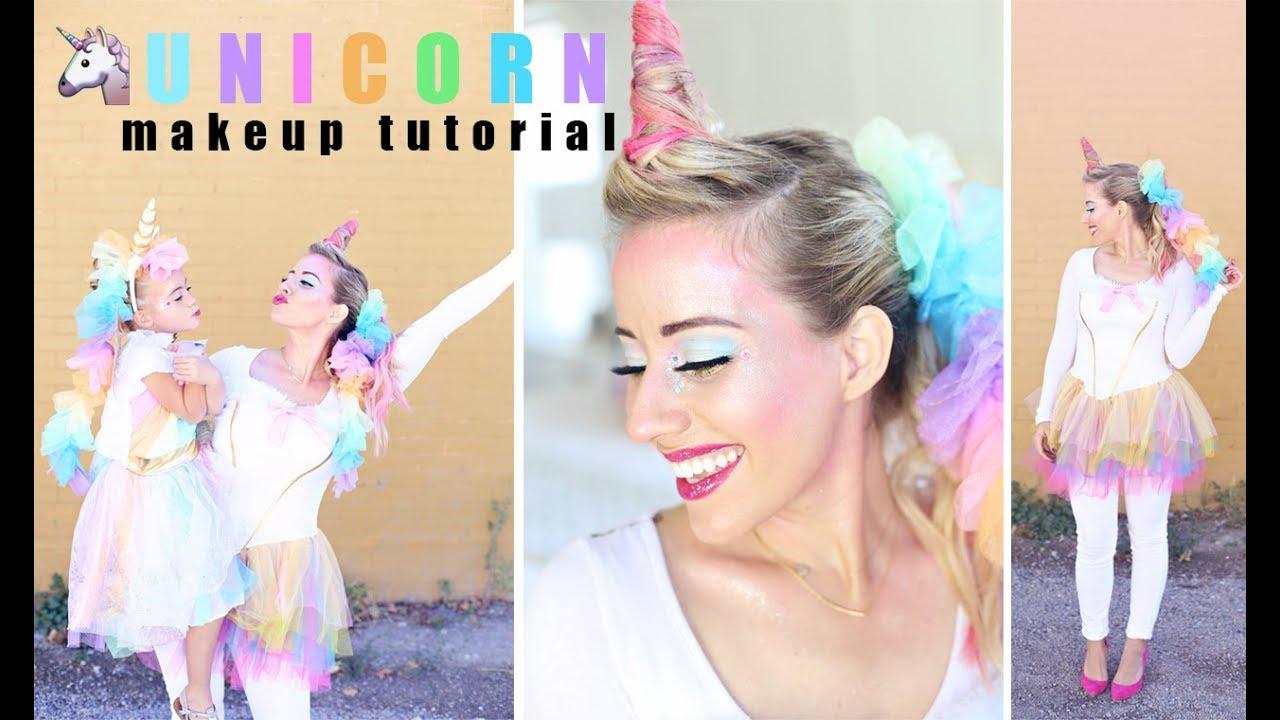 Unicorn Makeup Tutorial Twist Me Pretty Youtube