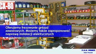 Części do maszyn rolniczych naprawa ciągników regeneracja głowic Bielsk Robex