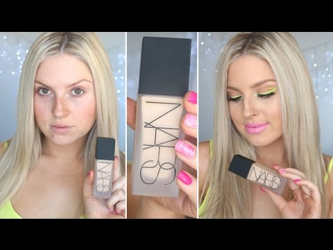 First Impression Review ♡ NARS All Day Luminous Weightless Foundation