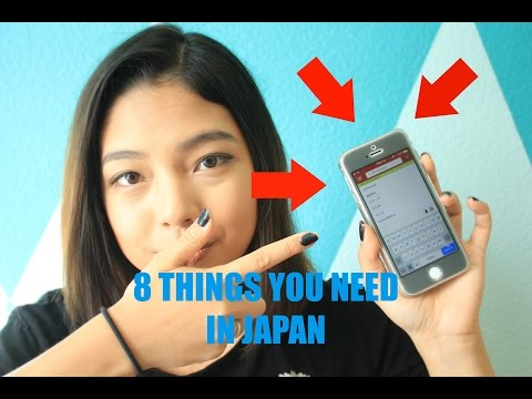 8 Things You NEED In Japan