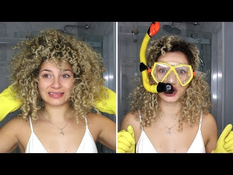 HOW TO WASH AND DETANGLE NATURAL HAIR