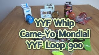 Came-Yo Mondial, YYF Loop 900 und YYF Whip: Unboxing und erster Eindruck