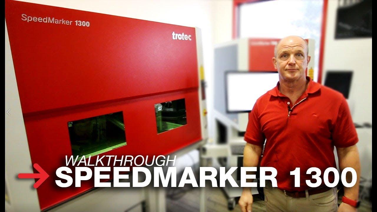 Galvo Laser System | SpeedMarker 1300 Walkthrough