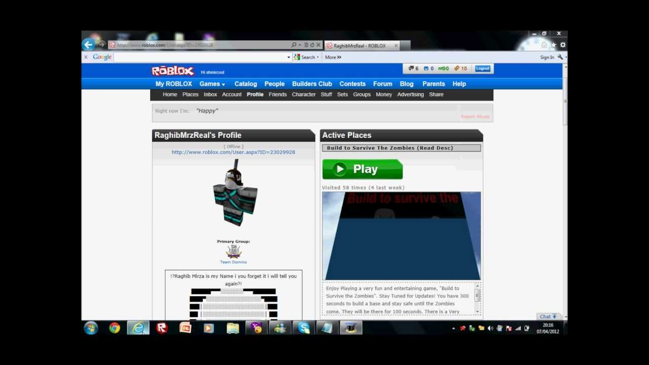 Roblox Tix & Robux Cheat 2012 NO DOWNLOADS REQUIRED ...
