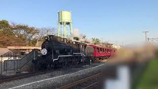 京都鉄道博物館 蒸気機関車バック移動