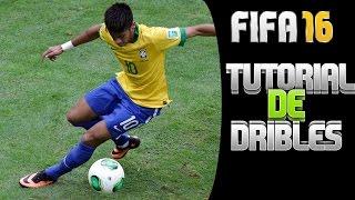 FIFA 16 - TUTORIAL/DICAS - DRIBLES FÁCEIS E EFICAZES E UTEIS (PS4/XBOXONE/XBOX360/PS3)