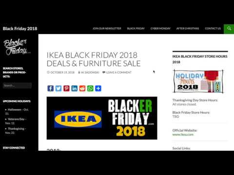 Ikea Black Friday 2018 Sale Predictions Youtube