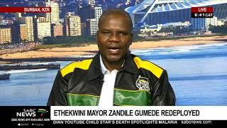KZN ANC expects Gumede to respect its decision to remove her