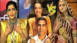 Sonam Kapoor Reaction On Padman Vs Padmavati Release Clash