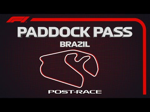 F1 Paddock Pass: PostRace At The 2019 Brazilian Grand Prix