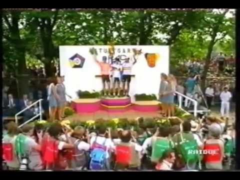 1991 World Cycling Championships - Campeonato Mundial de Ciclismo - Stuttgart - Bugno