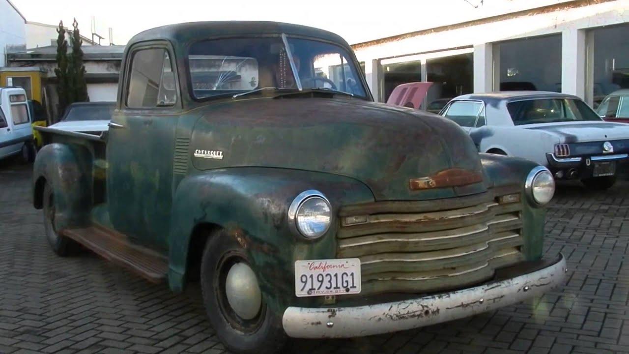1952 Chevrolet threequarter-ton 3600 Pickup Truck 3 Window im ...