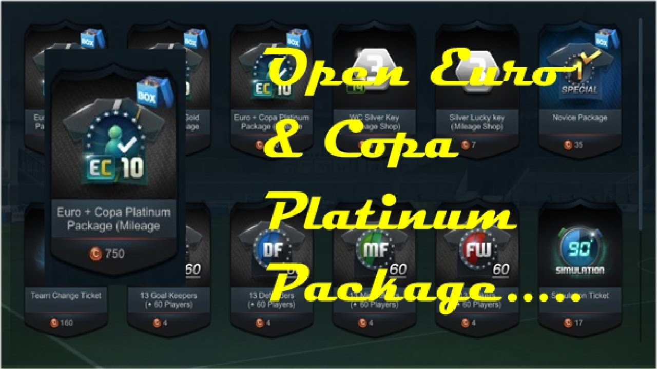 Fifa Online 3 Indonesia Open Pack Platinum Package Youtube