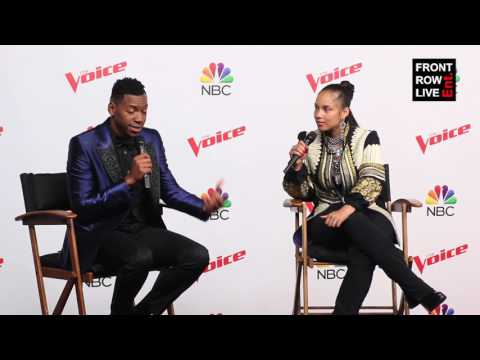 Chris Blue & Alicia Keys Press Conference The Voice Season 12 Finale