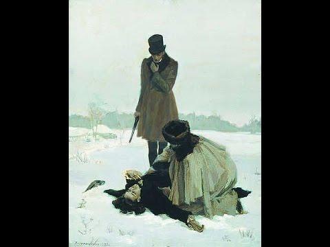 """А.С. Пушкин """"Евгений Онегин"""", 6 глава."""