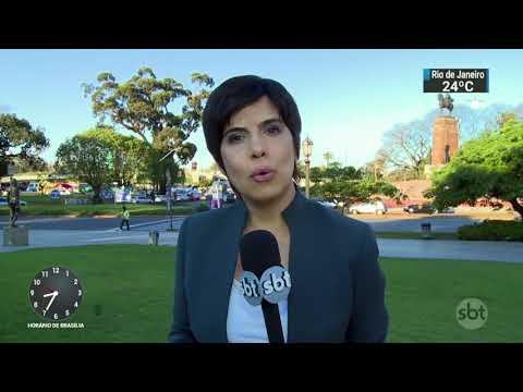 Infecção alimentar impede estreia da Libertadores feminina | SBT Brasil (09/10/17)