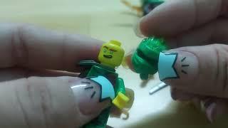 Lắp đồ chơi lego Ninja đua mô tô sáng tạo