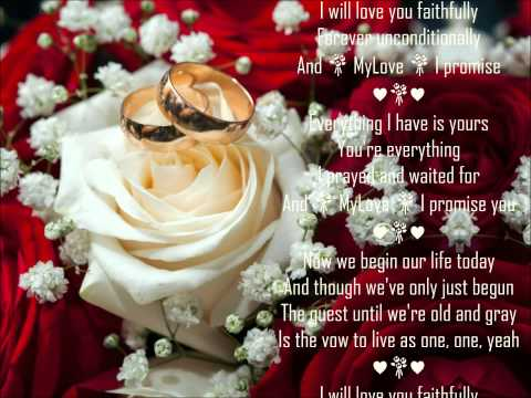 I Promise ♥💐♥ Wedding Song ♥💐♥ Cece Winans