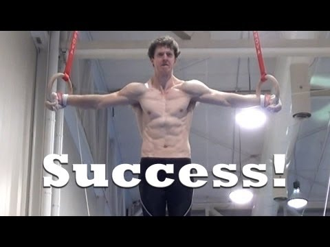 4 Years of Training for Iron Cross (Gymnastics)