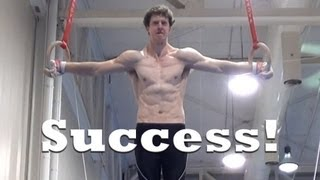 4 Years of Training for Iron Cross (Gymnastics)