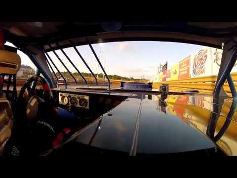 Macy Causey 2012 Dirt Sportsman In Car paractice Virginia motor Speedway