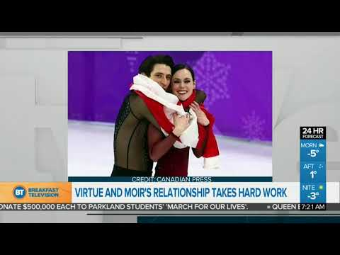 Virtue & Moir's Relationship Takes Hard Work!