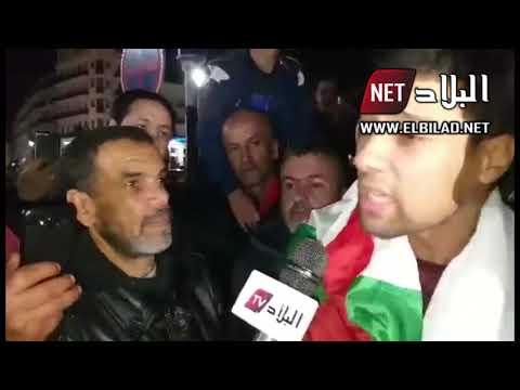 شاهدوا .. ماذا قال بعض الشباب الآن بوسط الجزائر العاصمة بخصوص بيان الجيش واستقالة بوتفليقة
