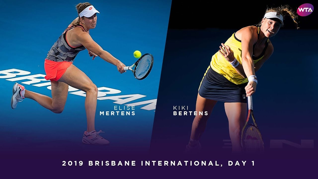 Elise Mertens Vs. Kiki Bertens | 2019 Brisbane International Day 1 | WTA  Highlights - YouTube