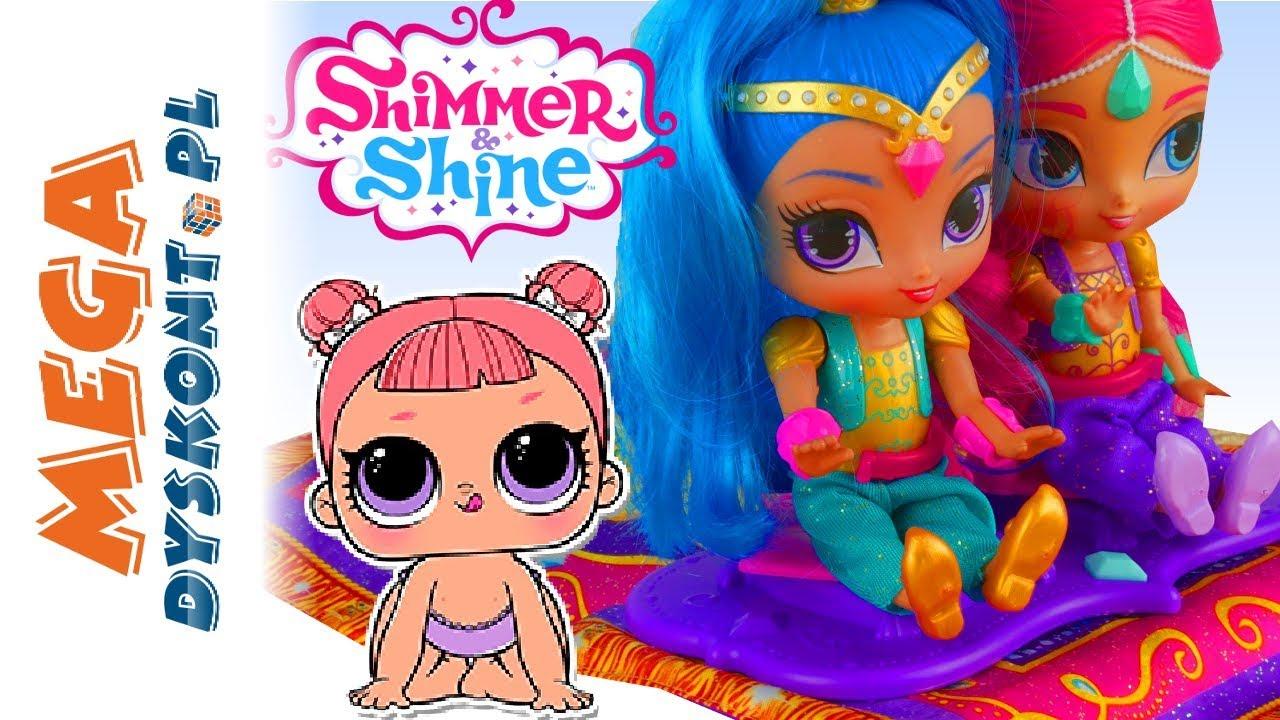 Shimmer I Shine Num Noms Lol Surprise Latający Dywan Bajki Po Polsku