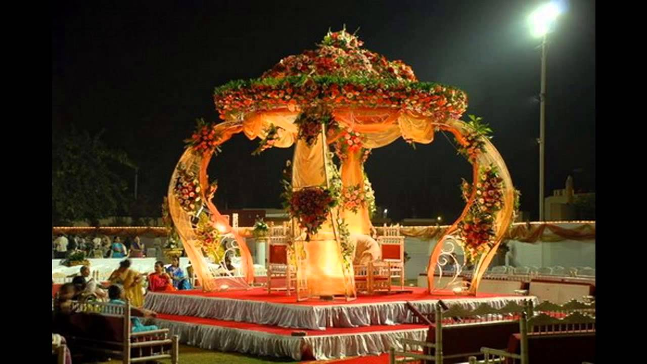 Indian wedding decoration theme ideas youtube for Home decor ideas for indian wedding