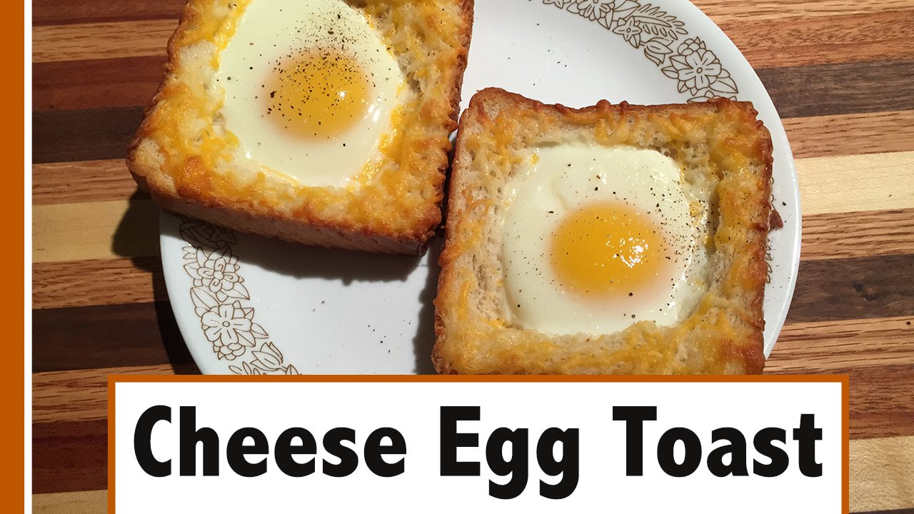 Cheese egg toast easy breakfast how to youtube forumfinder Choice Image