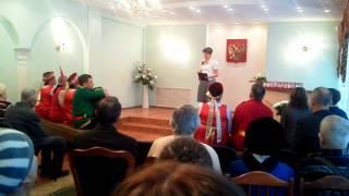 """Поздравление пар с """"золотой свадьбой"""" в ЗАГСе г.Алапаевск"""