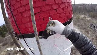видео альпинисты промышленные
